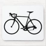 racing bike - racer bicycle mouse pad