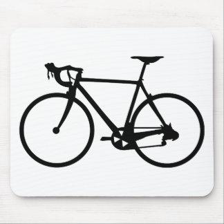 racing bike - racer bicycle mouse mats