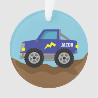 Racing Blue Monster Truck, for Boys