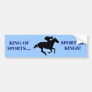Racing Bumper Sticker