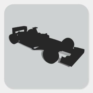 Racing Car_2 Square Sticker
