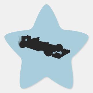 Racing Car_3 Star Stickers