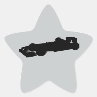 Racing Car_4 Star Sticker