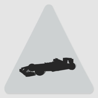 Racing Car_4 Triangle Sticker