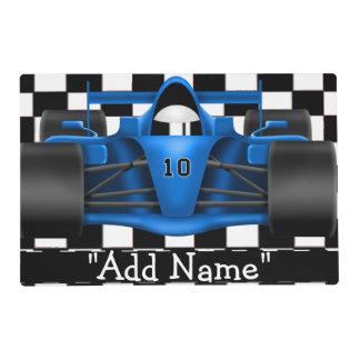 Racing Car Artmat Laminated Placemat