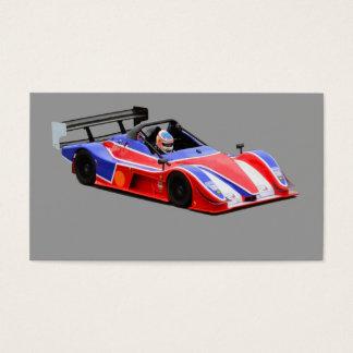 racing car business card