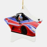 racing car christmas ornament