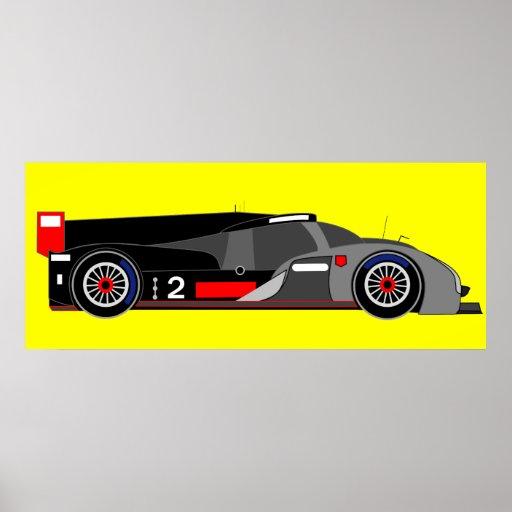 Racing Car Posters