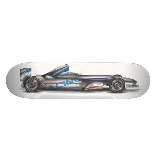 Racing Car Custom Skate Board