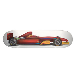 Racing Car Skateboard Deck