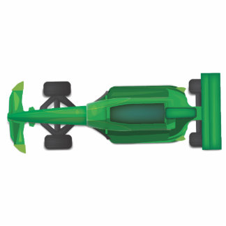 racing car statuette