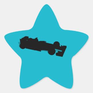 Racing Car Star Stickers