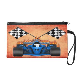 Racing Car Wristlet