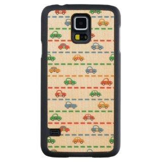 Racing Cars Carved Maple Galaxy S5 Case