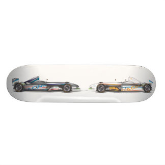 Racing Cars Skateboard Deck