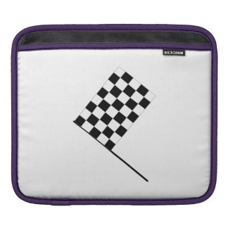 Racing Checkered Flag iPad Sleeve