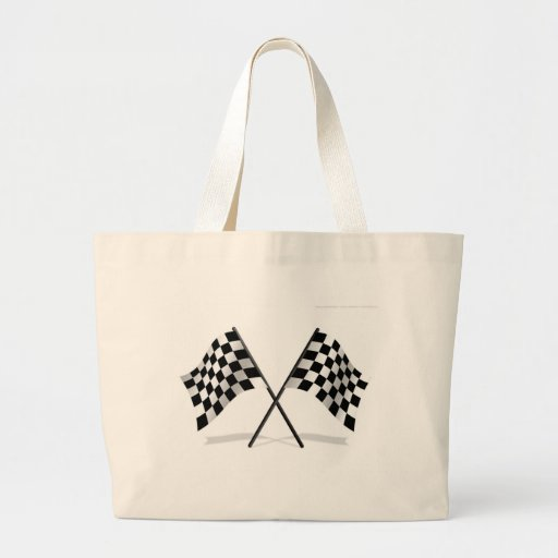 Racing Checkered Flags Bags