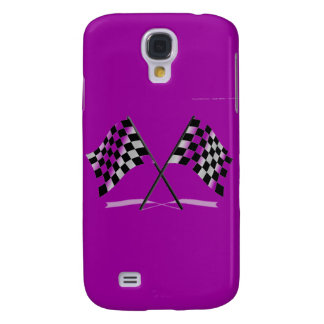Racing Checkered Flags Galaxy S4 Cover