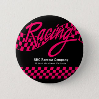 Racing, choose your background color pinback button
