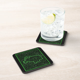 Racing Circuit Beverage Coaster