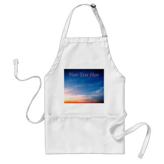 Racing Clouds Adult Apron