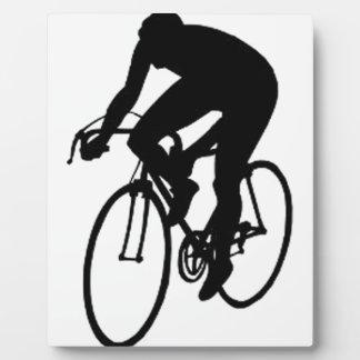 Racing Cyclist Plaque