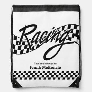 Racing Drawstring Bag