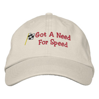 Racing Embroidered Hat