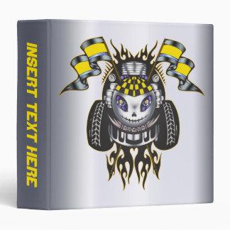 Racing Engine Avery Binder