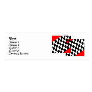 Racing Fan Business Cards