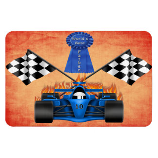Racing Father's Day Flexible Magnets