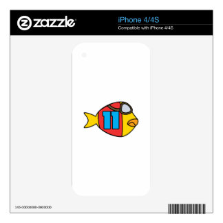 racing fish skin for the iPhone 4S