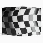 Racing Flag 3 Ring Binders