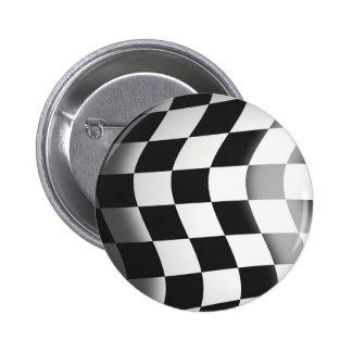 Racing Flag Pinback Buttons