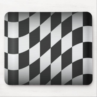 Racing Flag Mouse Pad
