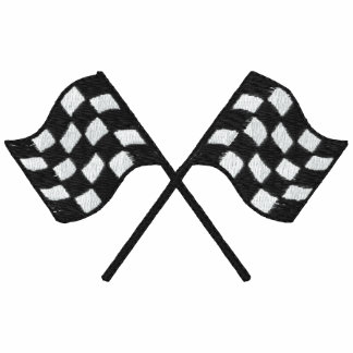 Racing Flags Embroidered Shirt