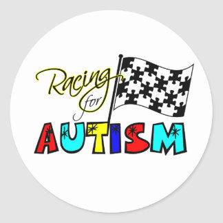 Racing for Autism Stickers