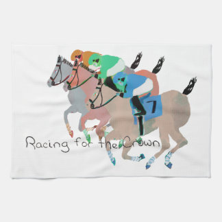 Racing for the Crown Towel