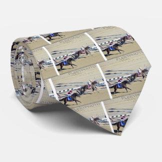 Racing from Aqueduct Neck Tie