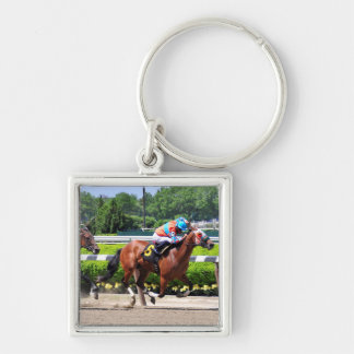 Racing from Beautiful Belmont Park Key Chains