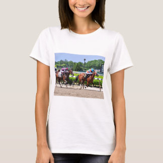 Racing from Beautiful Belmont Park T-Shirt