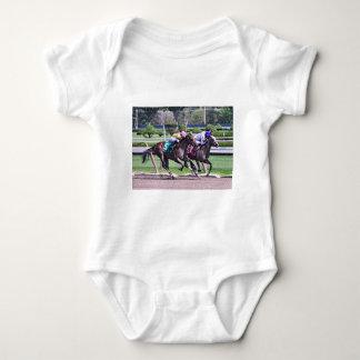 RACING FROM HISTORIC SARATOGA BABY BODYSUIT