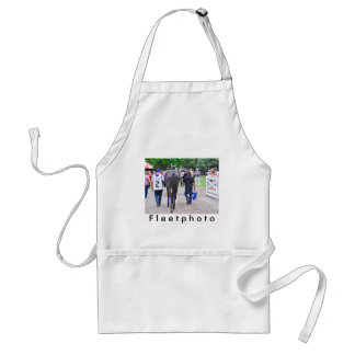 Racing from Historic Saratoga Race Course Adult Apron