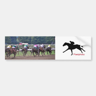 Racing from Historic Saratoga Race Course Bumper Sticker