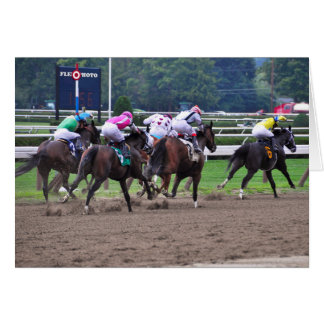 Racing from Historic Saratoga Race Course Card