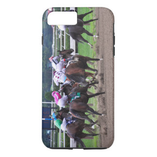 Racing from Historic Saratoga Race Course iPhone 8 Plus/7 Plus Case