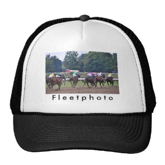 Racing from Historic Saratoga Race Course Trucker Hat