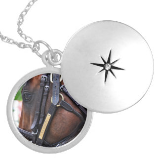 Racing from Saratoga Locket Necklace