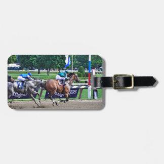 Racing from Saratoga Luggage Tag