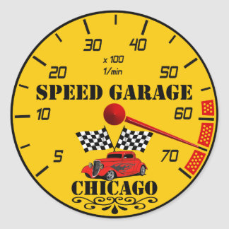 Racing gauges Sticker